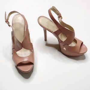NINE WEST | Buckle Strap Heels